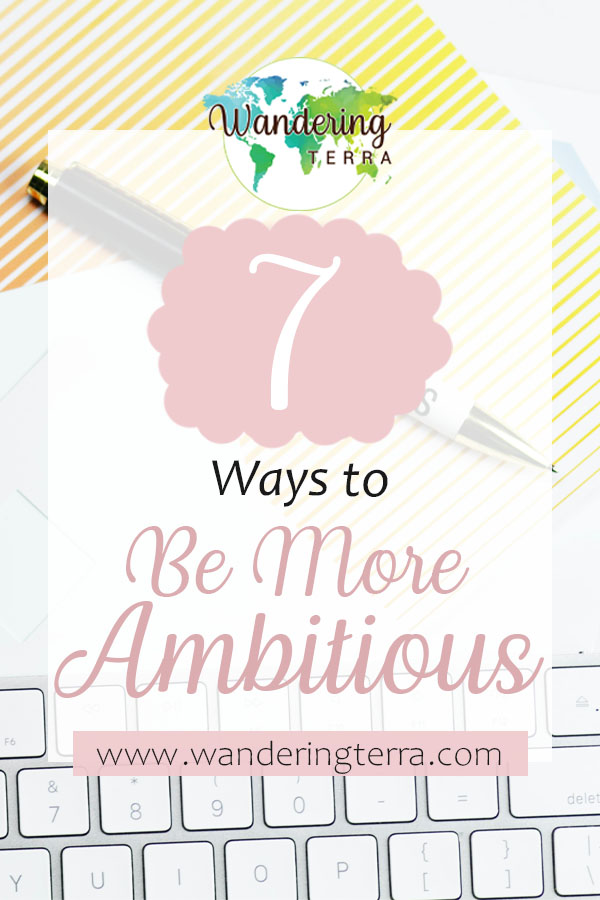 How to Dream Big: 7 Ways to Be More Ambitious - pen and pad lay on table next to keyboard for doing work