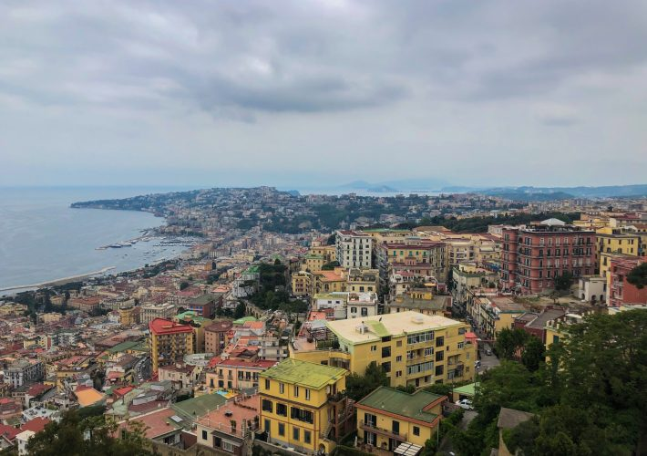 View of Naples from Castel Sant'Elmo in Naples, Campania as a thing to do in Naples