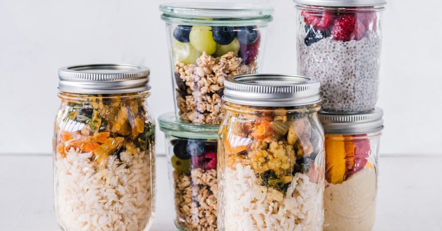 Vegan, plant-based meal prep in meal prep containers for meal prepping and how to meal prep tips and tricks