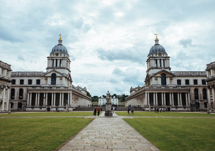 Greenwich - Things to do -- The Royal Naval Palace grounds