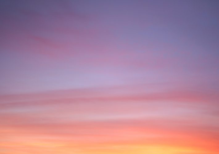How to Appreciate the Little Things in Life in 3 Steps - purple, pink, blue, orange and yellow sunset
